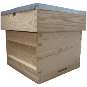 National-beehive-varoa-mesh-floor-broad-box-super-flat-roof