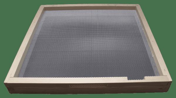 National-beehive-floor-with-varroa-mesh-bee-enterance