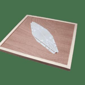 Rhombus national bee hive crownboard