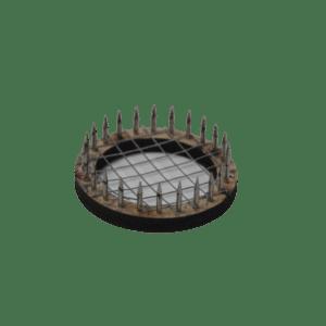 Wooden queen marker cage
